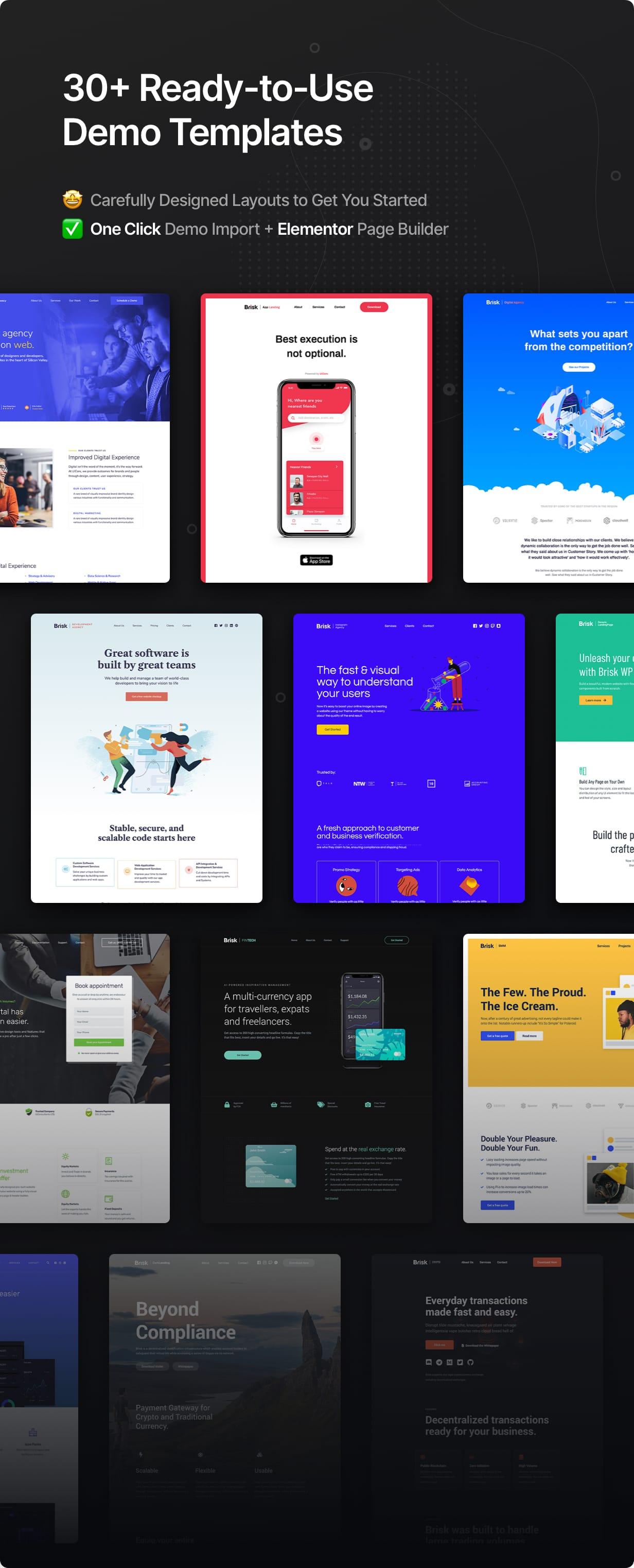 30+ Ready-to-Use Demo Templates